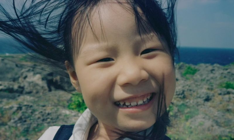 photograph of young girl in china