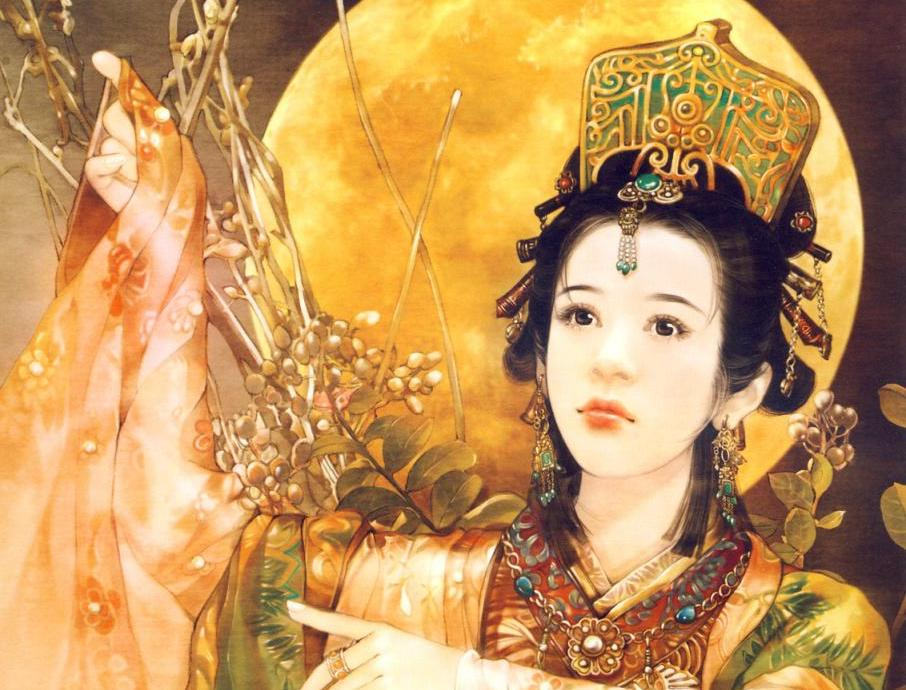 The Four Great Beauties of Ancient China - Diaochan