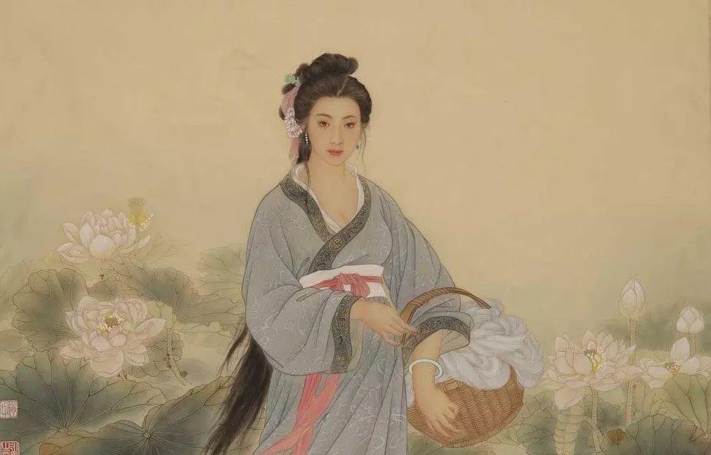 painting of Xishi