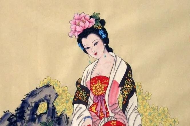 painting of Yang Yuhuan