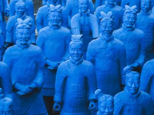Zheng He: photo of terracotta army
