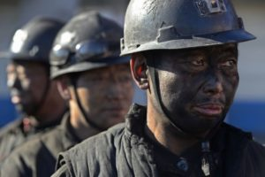 coal miners in china