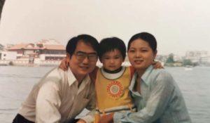 family photo in china
