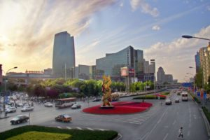 Zhongguancun area of beijing
