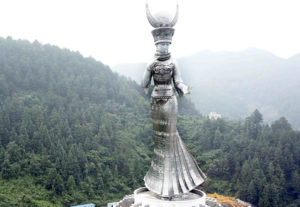 giant statue in guizhou