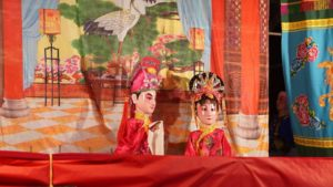 puppet show in hainan china