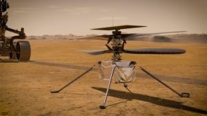 ingenuity helicopter on mars surface