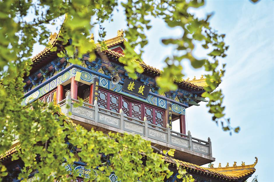 building from zhanghua temple
