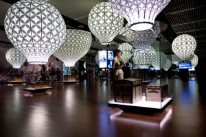 exhibition hall at museum in china