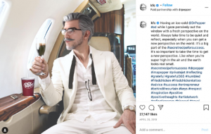 Virtual Colonel on a private jet