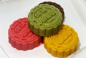 colourful mooncakes released by hospital in china
